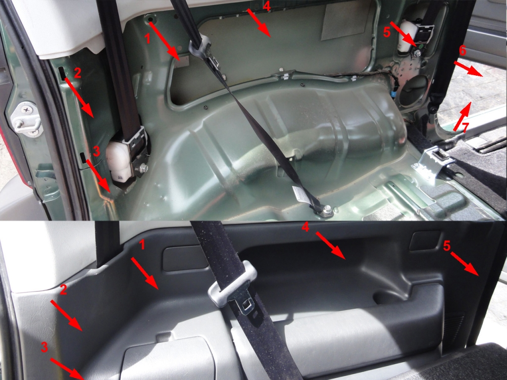 Installation Of The Rear Speakers On The Suzuki Jimny