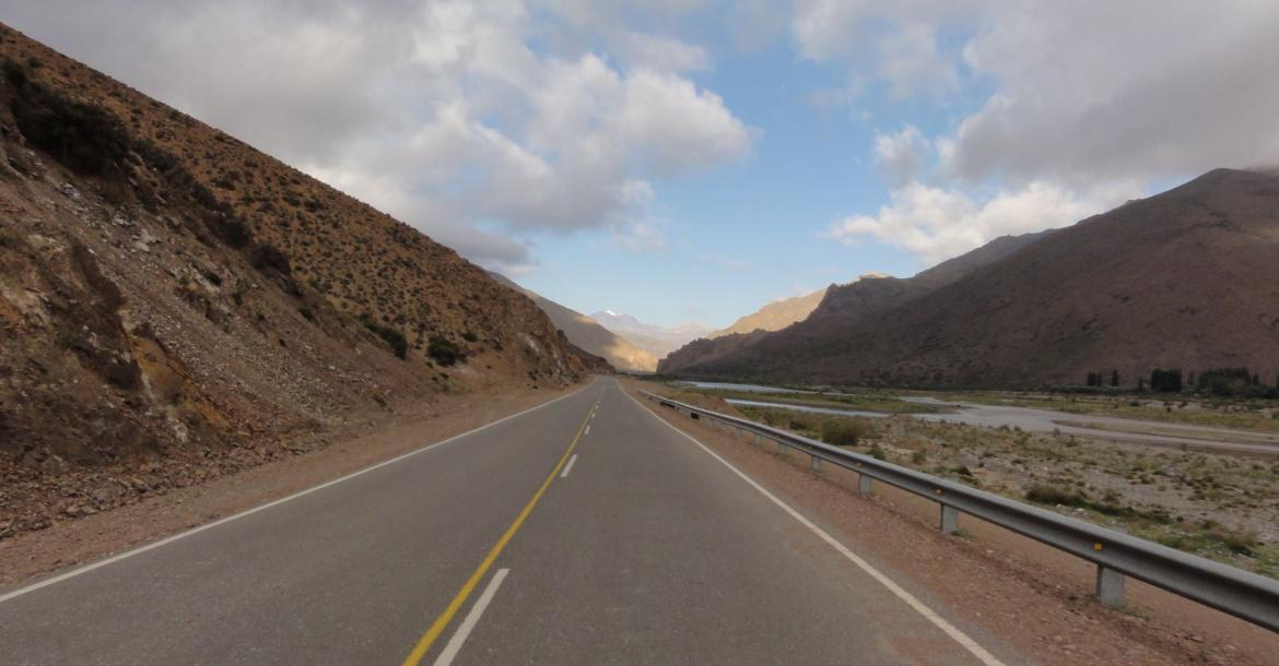 Crossing the Andes by Bike